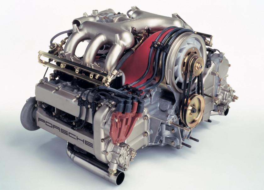Porsche-959-engine