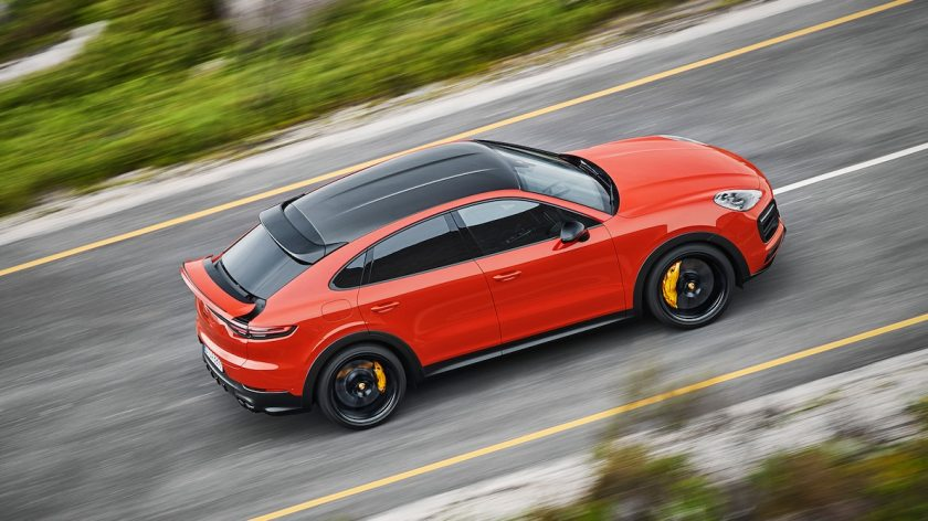 Cayenne Coupe Side