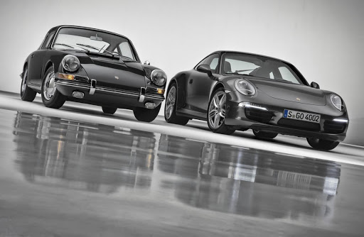 Old and New 911 Diagonal