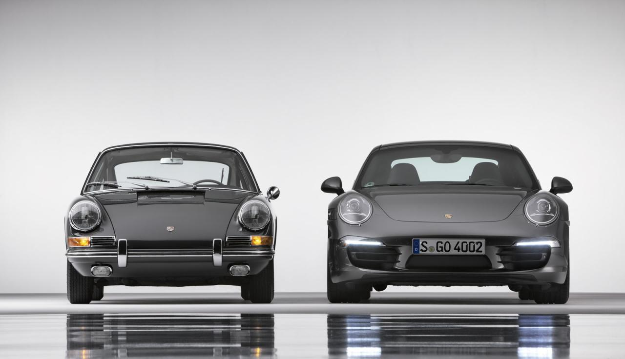 Old and New 911