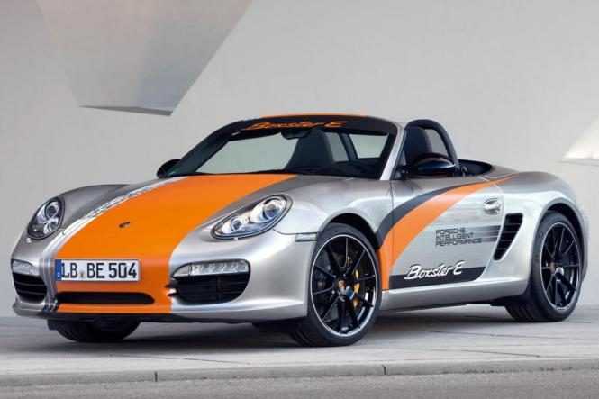 Electric 718 Boxster