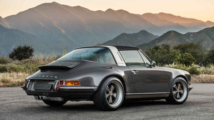 Old Targa Back